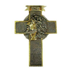 Krzyż JEZUS płaczący Autorskie Dzieło Sztuki