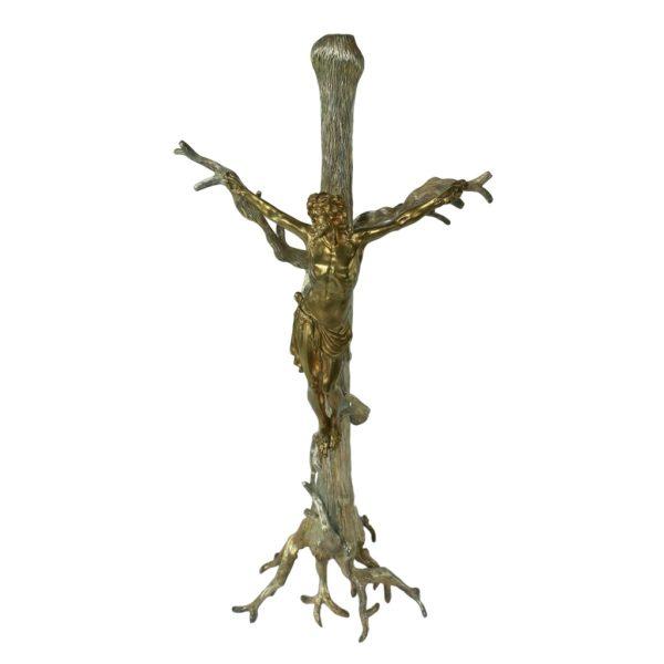 CHRYSTUS na drzewie krzyża, Autorskie Dzieło Sztuki