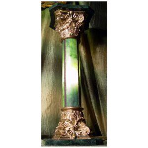 Kolumna Koryncka podświetlana Autorskie Dzieło Sztuki