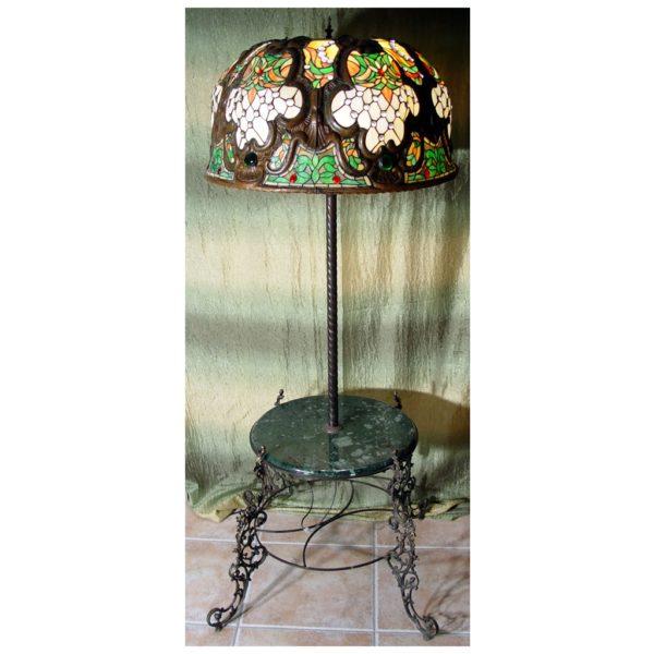 Lampa ze stolikiem Autorskie Dzieło ręcznie wykonana