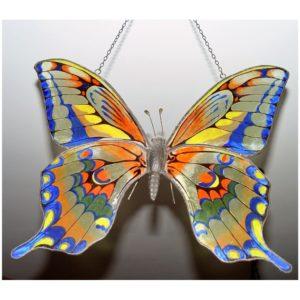 Kryształowy Motyl, Autorskie dzieło ręcznie malowane