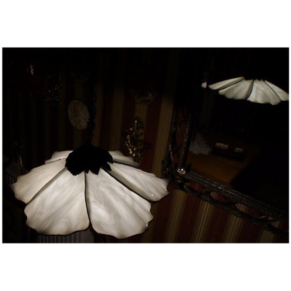 Lampa wisząca Dzwonek, Autorskie Dzieło z ręcznie formowanego szkła