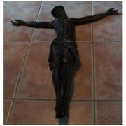 Figura JEZUSA CHRYSTUSA z mosiądzu